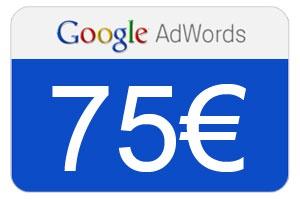 75 euros gratis con adwords