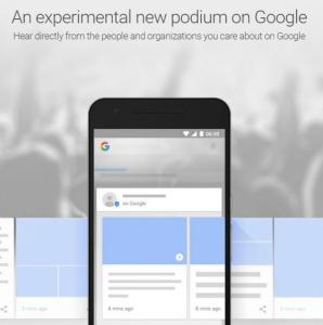 fin del seo con podium google